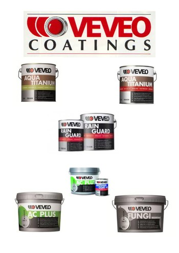 Veveo coatings